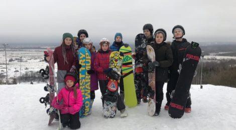 С днем сноубординга!